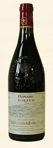 "Giraud, Giraud, Châteauneuf-du-Pape ""Les Gallimardes"", rouge 2000"
