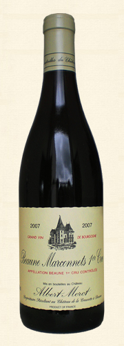 "Morot, Morot, Beaune 1er Cru ""Les Marconnets"", rouge 2007"