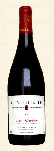 "Moulinier, Moulinier, ""Tradition"", rouge 2008"