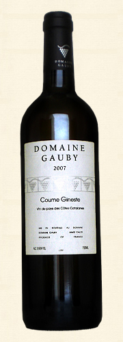 "Gauby, Gauby, ""Coume Gineste"", V.d.P. Côtes Catalanes, blanc 2007"