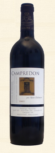 "Chabanon, Font Caude, ""Campredon"", rouge 2005"