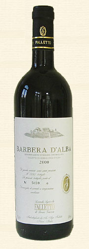 Giacosa, Giacosa, Barbera Falletto 2000