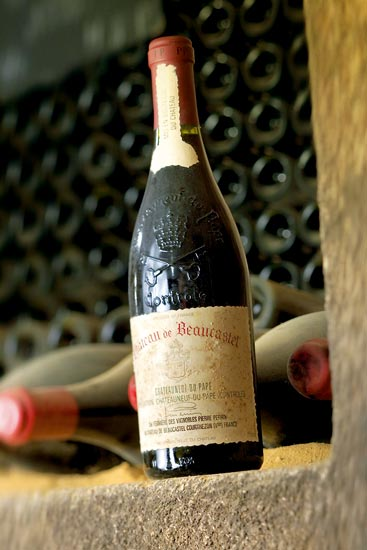 Beaucastel, CdP, rouge